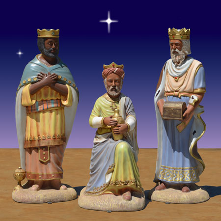 Black Three Wise Men