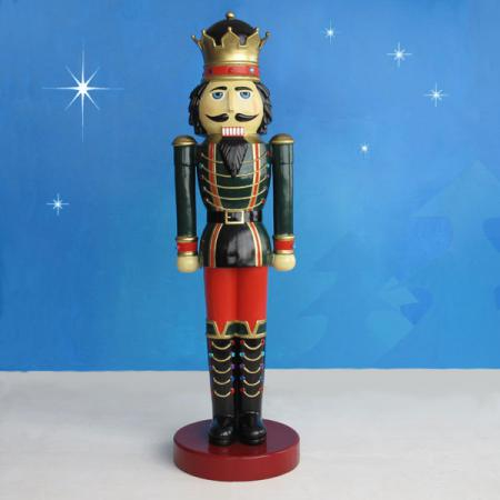 Life Size Nutcracker King  6.5 ft H