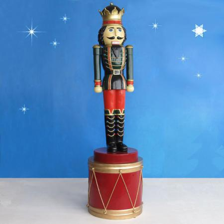 Nutcracker King on Drum