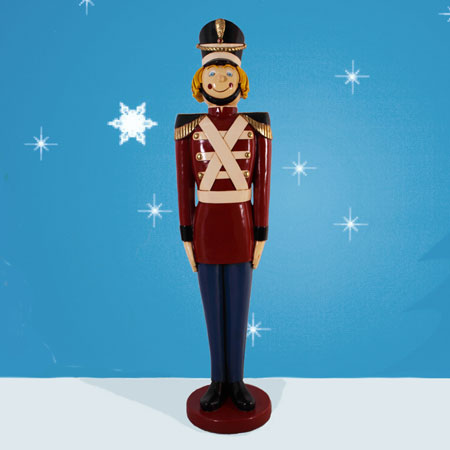 Outdoor Tin Soldier