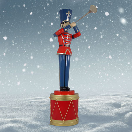 9 foot Toy Soldier on 3 foot Drum