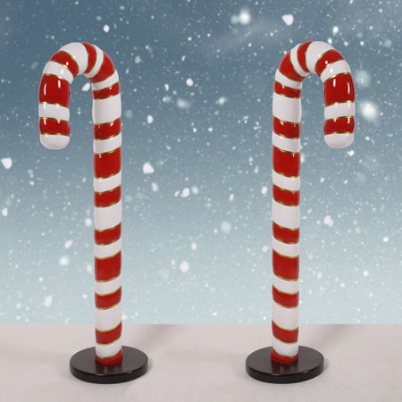 4 foot Candy Canes