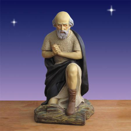 "Old Man Shepherd 48""H Life size plus - 6 foot scale Outdoor Nativity"