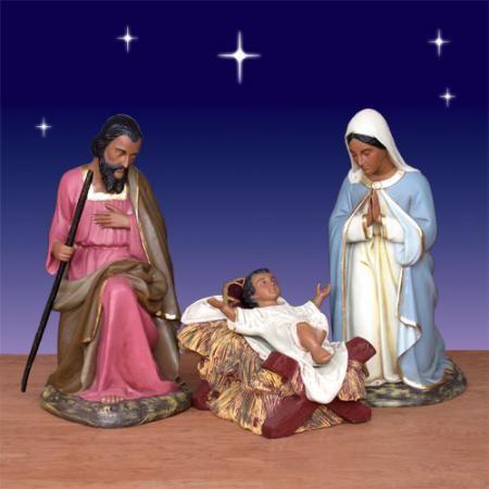 Christmas outdoor lighted nativity scene car tuning car tuning
