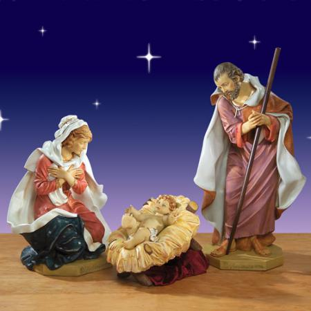 Fontanini Holy Family 50 inch scale