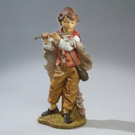 Fontanini Boy with Flute 50 inch scale