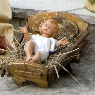 Fontanini Baby Jesus 34 inch scale