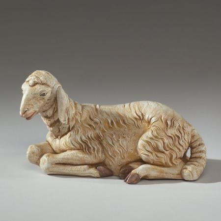 Fontanini Seated Sheep 27 inch scale