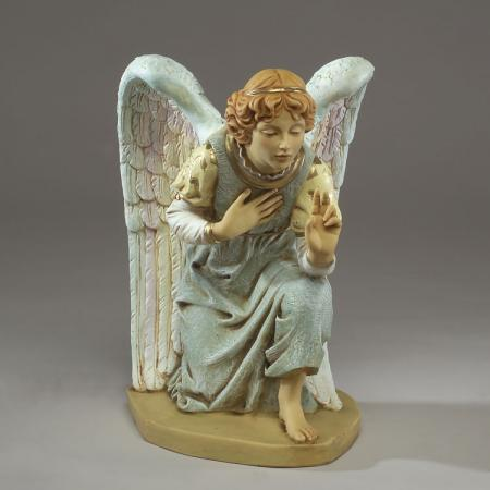 Fontanini Kneeling Angel 27 inch scale