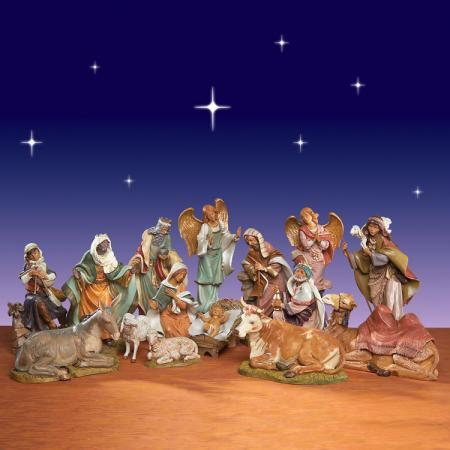 Fontanini Masterpiece Collection Nativity set