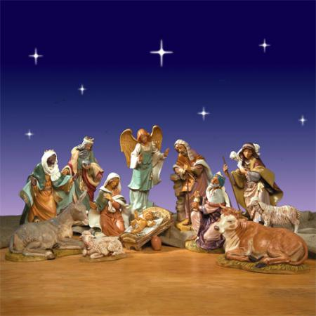 "Fontanini 18"" Masterpiece Collection Nativity - 12 Pc"