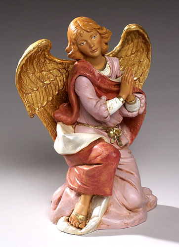 Fontanini Kneeling Angel 18 inch scale
