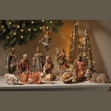 "Fontanini Limited Edition Nativity 6"" scale"