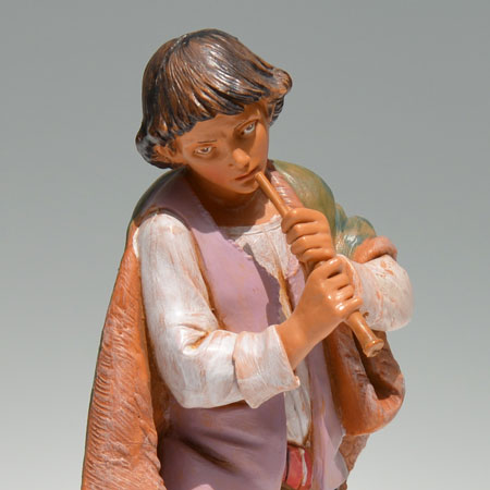 Nativity Daniel with Flute 12 inch