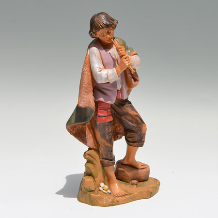 Nativity Flute Player 12 inch scale