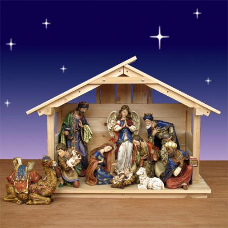 Now nativity manger nativity creche indoor nativity stable outdoor