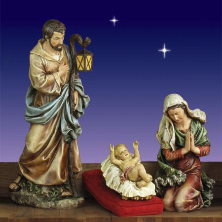 "Christmas Holy Family Joseph's Studio 40"" scale"