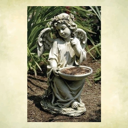 Child Angel statue