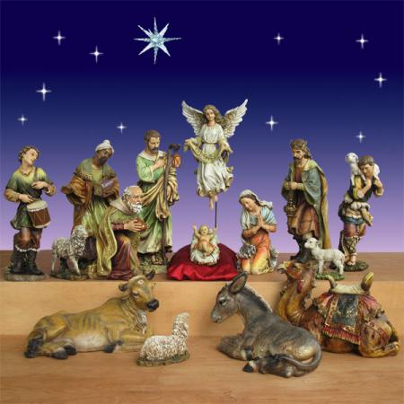 Artisan Nativity by Joseph's Studio