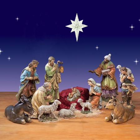 "Artisan Nativity from Joseph's Studio 27.5""  12 Pc."