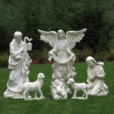 Ivory Family Angel Sheep