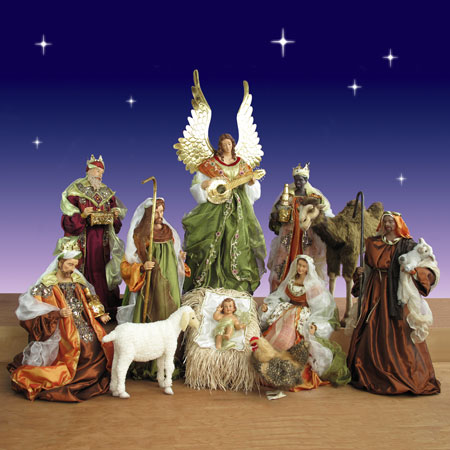 Christmas Decorations Nativity Scene Outdoor