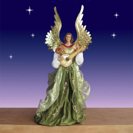 Life size Angel in Resin and Fabric - 5 Ft scale