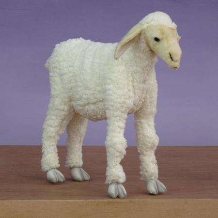 "Large Plush Sheep 20""H"