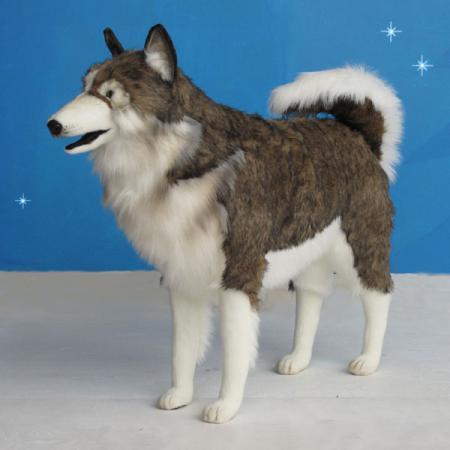 Hansa Life Sized Plush Husky Dog 32 Quot