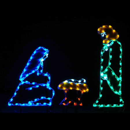 LED Holy Family