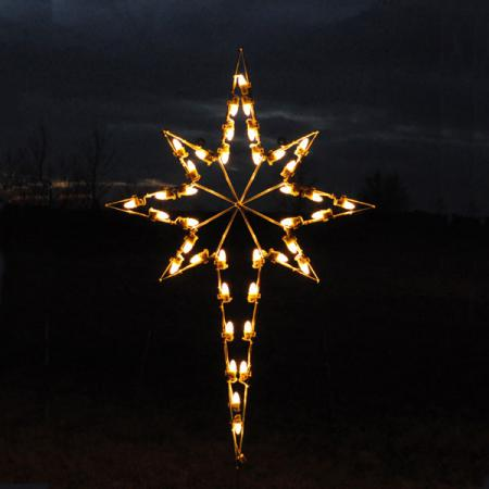 "Nativity C7 LED Light Display - 55"" Star of Bethlehem"