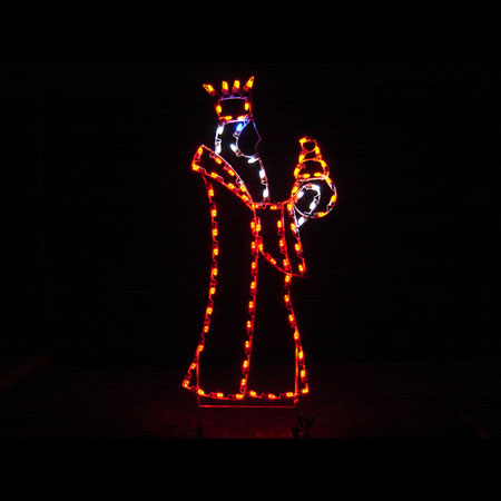 Wise Man Light display