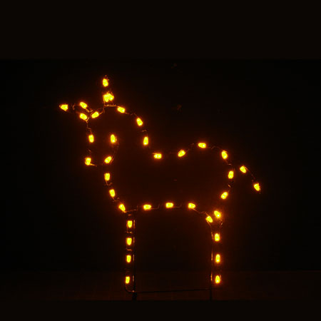 Donkey Light Display