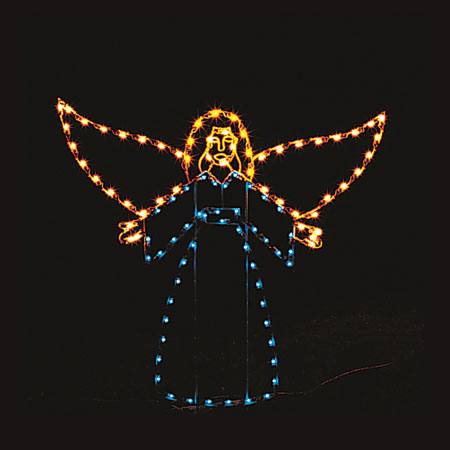 Nativity Angel Light Display