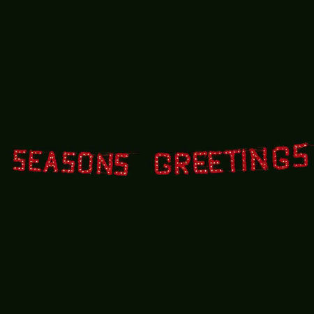 Seasons Greetings LED Display