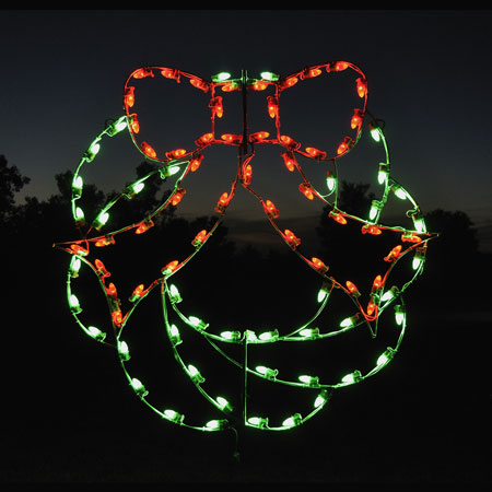 Holiday Lights Wreath