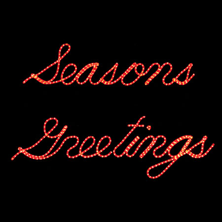 Seasons Greeting LED Display