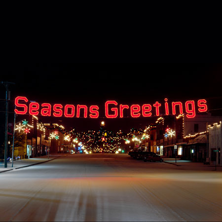 Seasons Greetings Across Street View