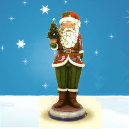Santa Nutcracker 6 ft Tall - Jim Shore Collection