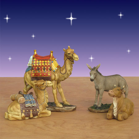Real Life Nativity Animals