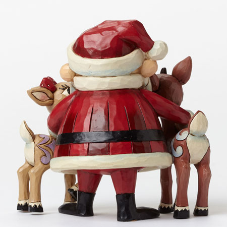 Santa with Rudolph and Clarice