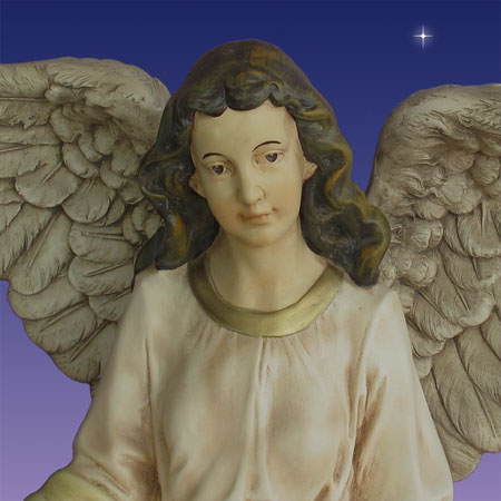 40 inch scale Christmas Angel of Gloria