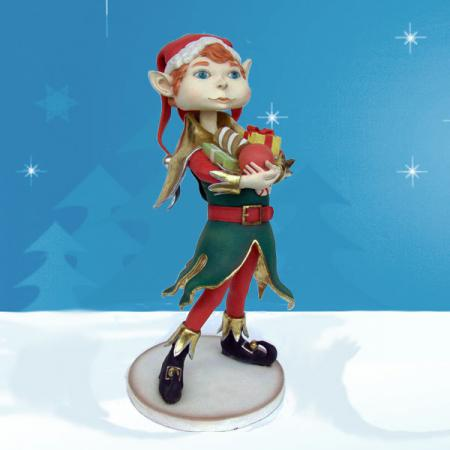"Life Size Elf Boy 48""H"