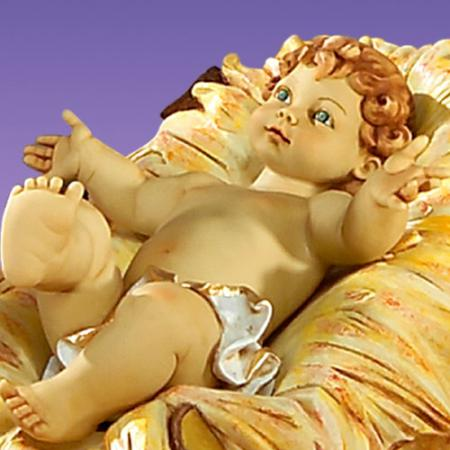 Fontanini Infant Jesus 50 inch scale
