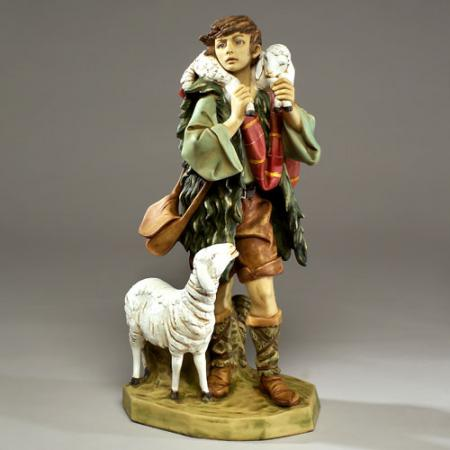 "Fontanini Shepherd Gabriel 25"" - 27"" scale Masterpiece Collection"