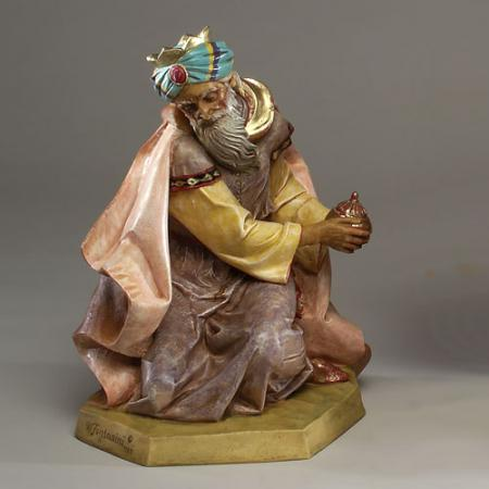 Fontanini Masterpiece collection King Melchior 27 inch scale