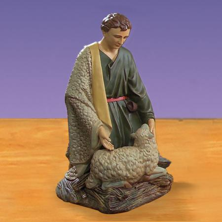 "Shepherd with Lamb 50""H -  Giant 6 foot scale Outdoor Nativity"