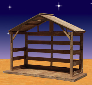 Cheap outdoor nativity decorations