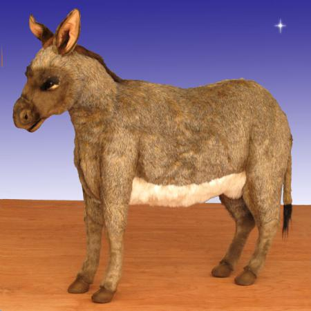 "Life Size Hansa Donkey 35.5""H Ride-on"