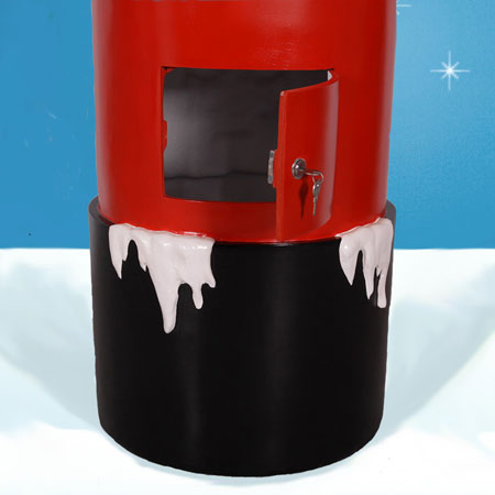 Santa Mail Box Door
